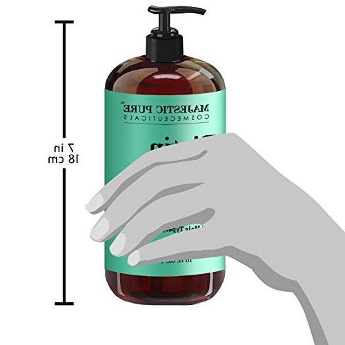 Majestic Shampoo - Loss Shampoo Thicker - Infused Vitamins, Nourishing Volumizing, Blockers, Women - 16 oz