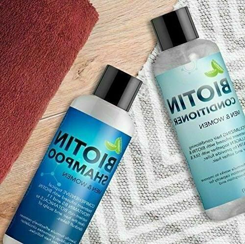 Biotin Shampoo Hair Thinning Hair Free ship