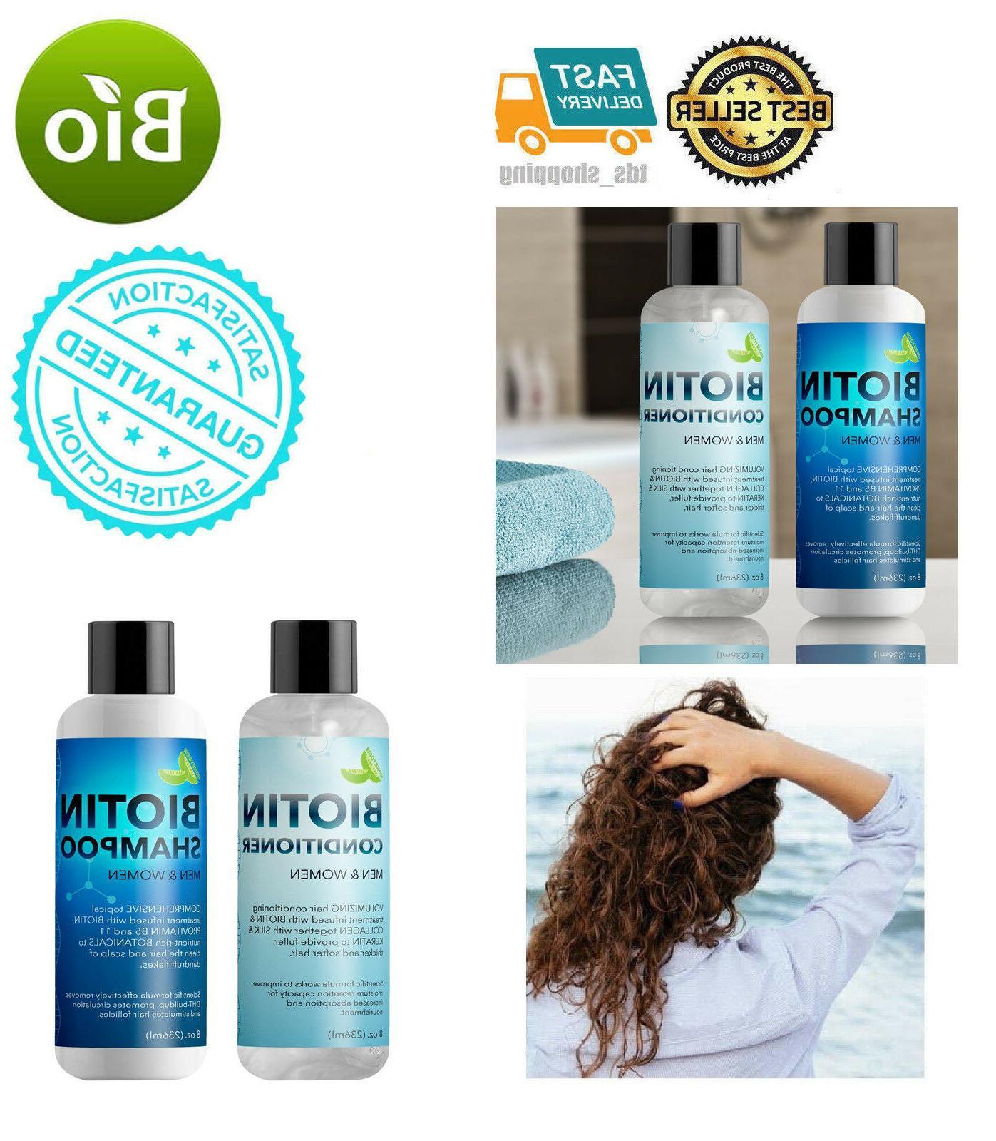 biotin shampoo and conditioner hair loss treatment
