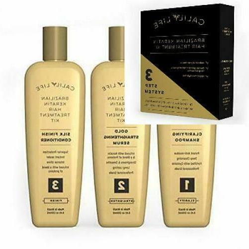 brazilian keratin hair treatment set