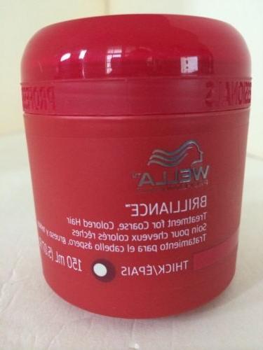 brillance treatment conditioner coarse color treated hair