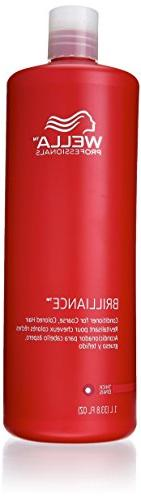 Brilliance Wella Color Care Conditioner For Coarse Hair 8.4