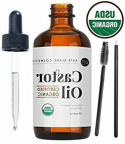 castor oil 2oz usda certified organic 100