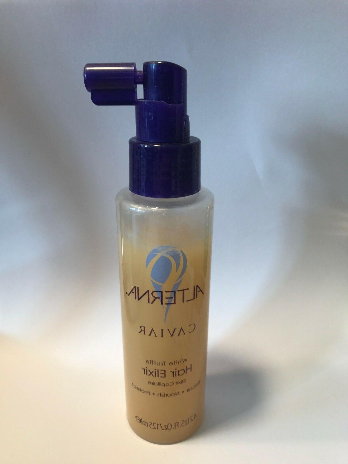 caviar white truffle hair elixir