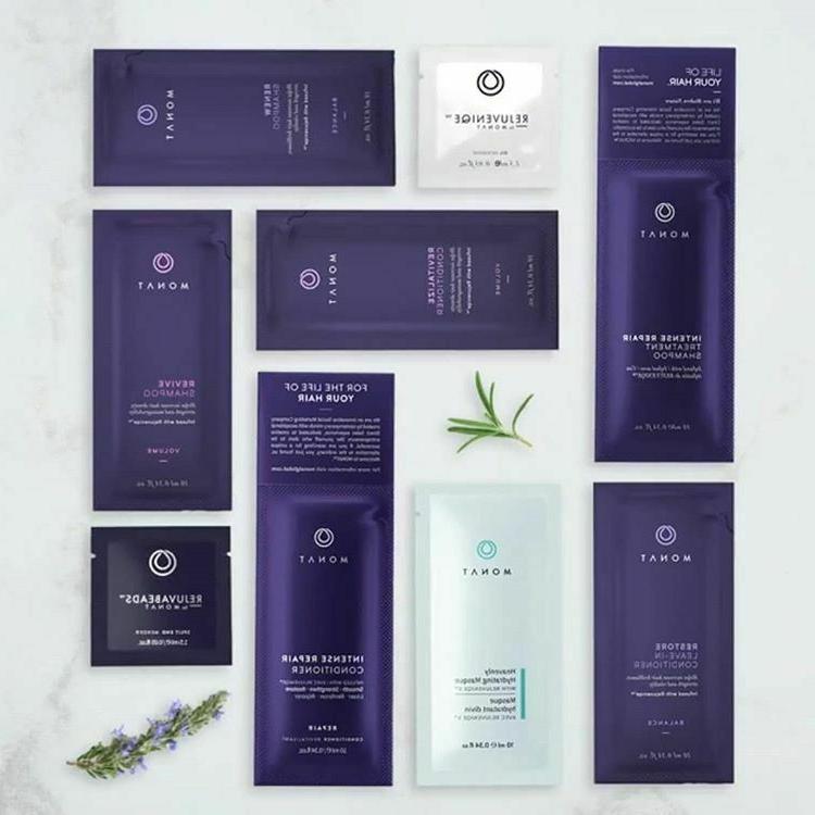 *MONAT*  Customized Samples: shampoo, conditioner & treatmen