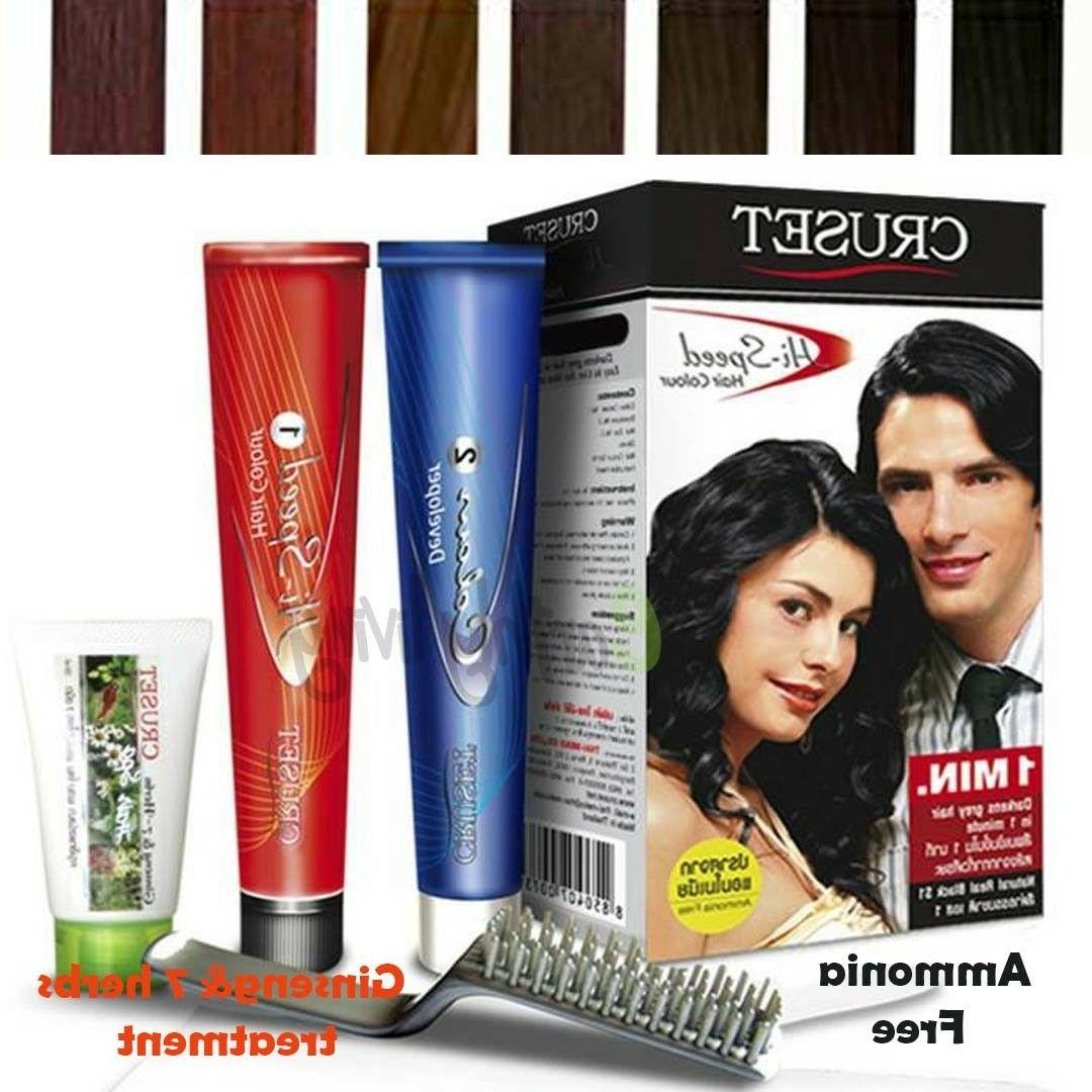 Color Dye Herbal Treatment White Grey Cover Ammonia Free Spe