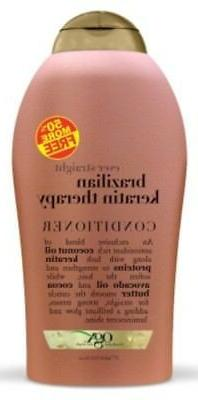 Ogx Conditioner Brazilian Keratin Therapy 19.5 Ounce