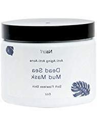Nalani Dead Sea Mud Mask Facial Treatment, 6 Ounces, Organic