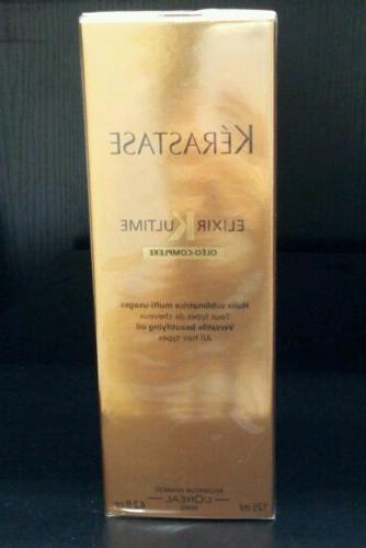 Kerastase Elixir Ultime Oleo Complexe Leave in Hair Oil Trea