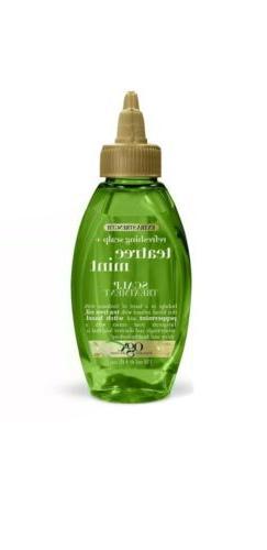OGX Extra Strength Tea Tree Mint Scalp Treatment, 4 Ounce Bo