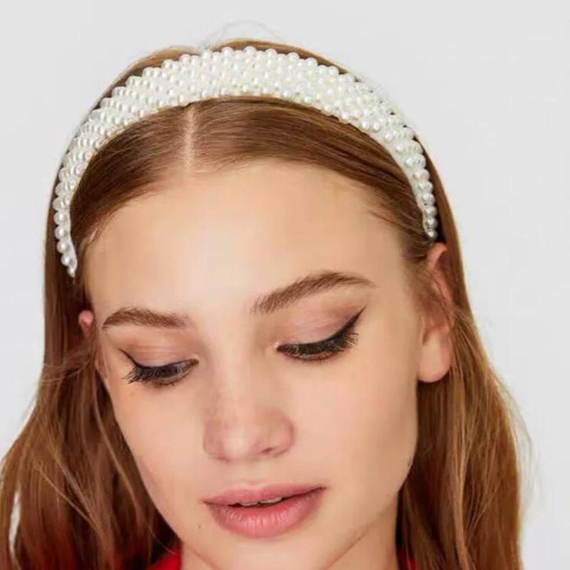 fashion pearl font b hair b font