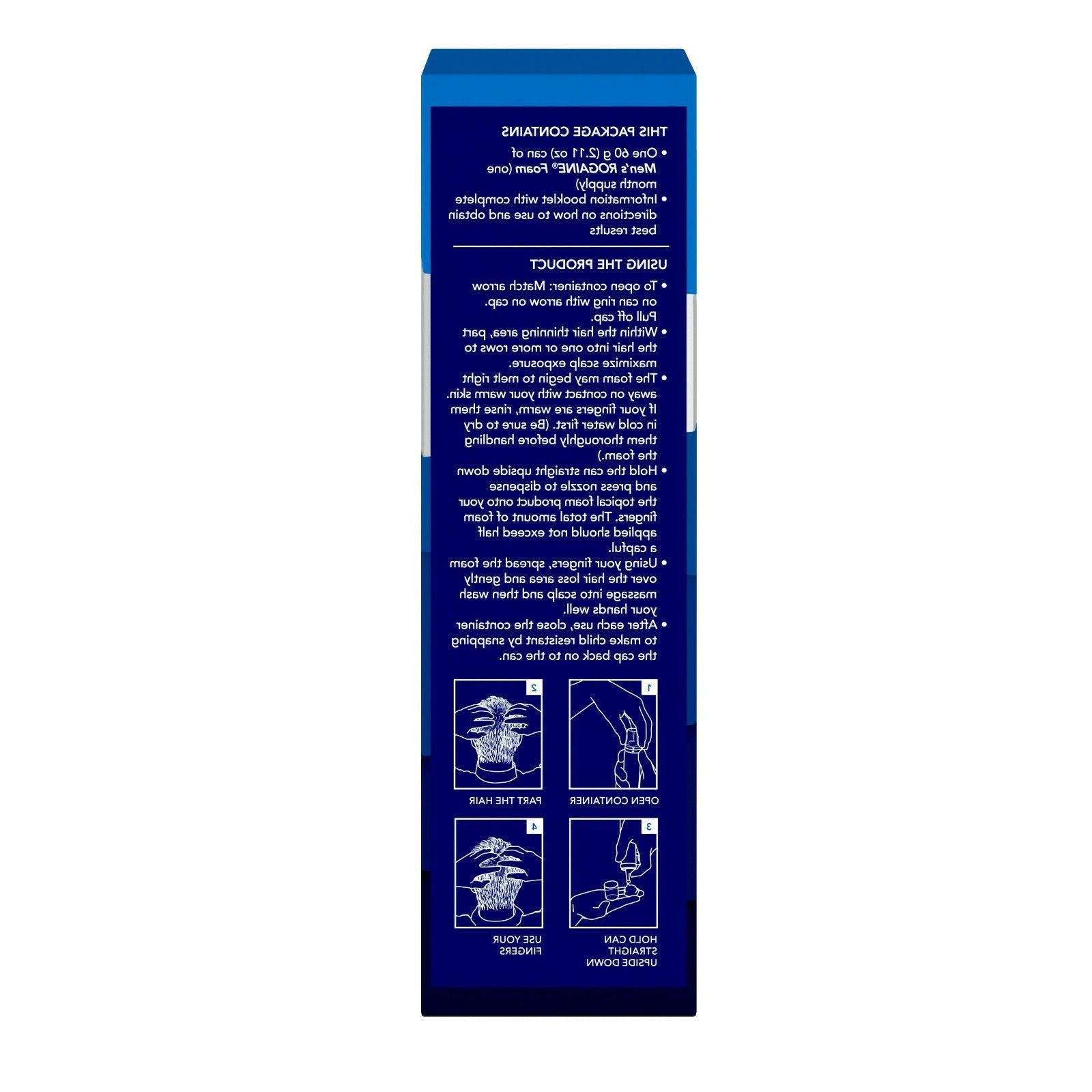 Rogaine Loss & Treatment Minoxidil 1,2,3,6 Supply