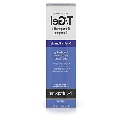 Neutrogena T/Gel Therapeutic Original Formula, Anti-Dandruff Itching as Psoriasis and Seborrheic 16