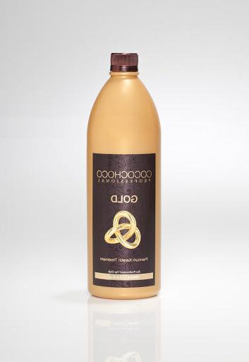 COCOCHOCO Gold keratin hair straightening treatment 34oz - w