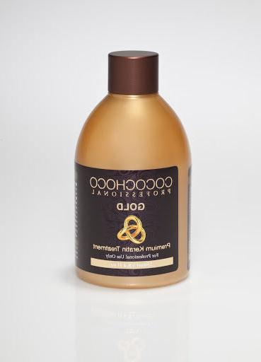 COCOCHOCO Gold keratin hair straightening treatment 8.4oz -