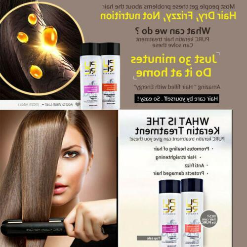Pure Shampoo Keratin Straightening
