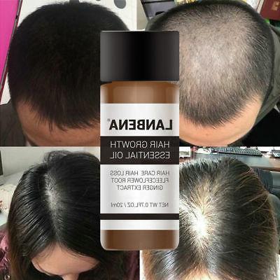 Hair Growth Essence Oil LANBENA Fast Hair Growth Natural Hai