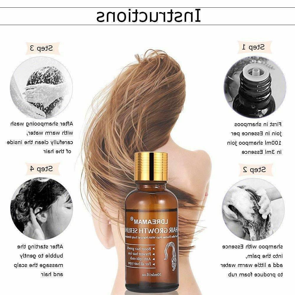 Hair Growth Oil Hair Loss Essence Treatment Fast