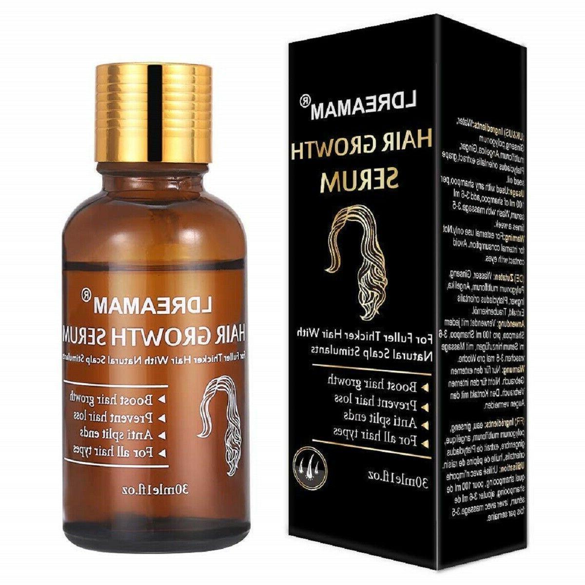 Hair Oil Loss Liquid Treatment Fast