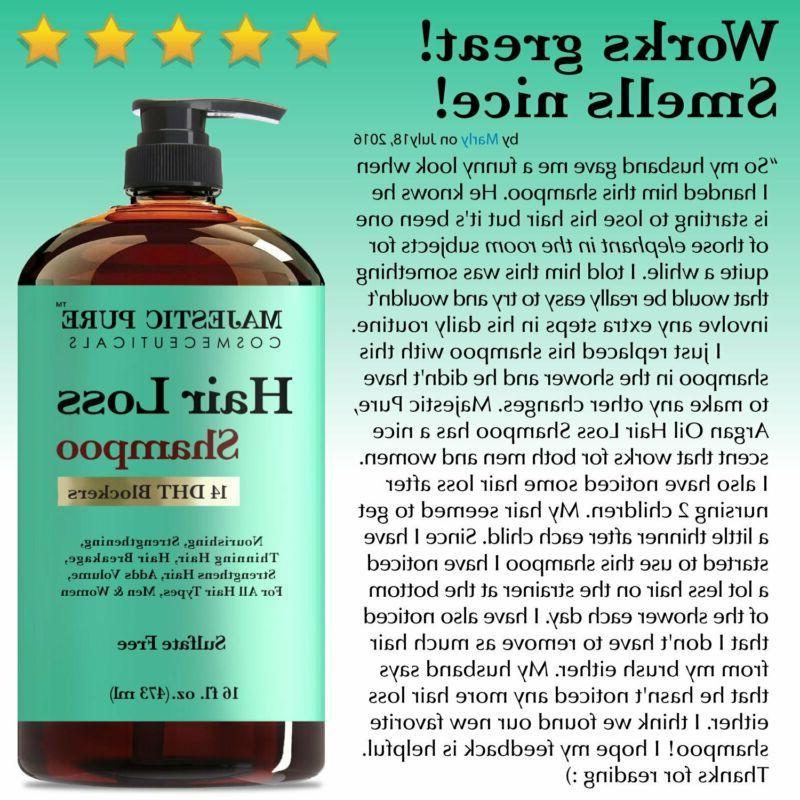Hair Loss Shampoo Treatment Women,