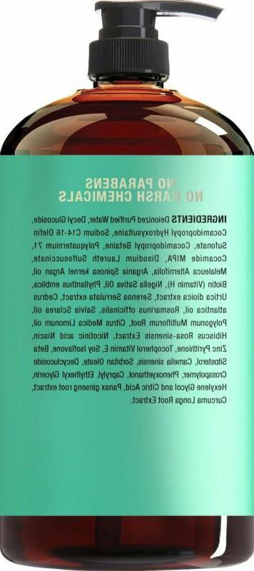 Hair Hair Regrowth Shampoo Treatment Women, Natural