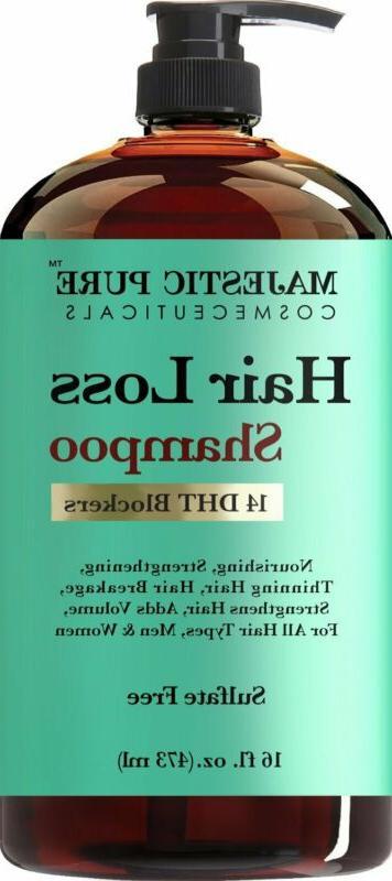 hair loss hair regrowth shampoo treatment