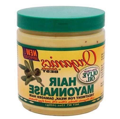 Hair Mayonnaise Treatment for weak & Damaged Hair Organics B