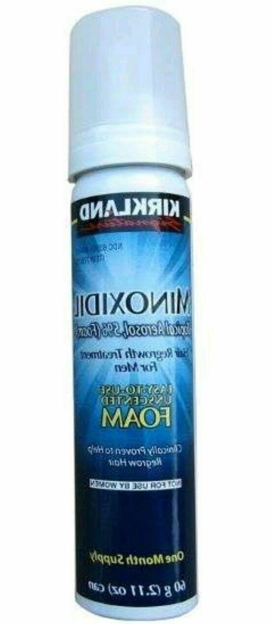 Kirkland Regrowth Minoxidil Foam for Men - Supply