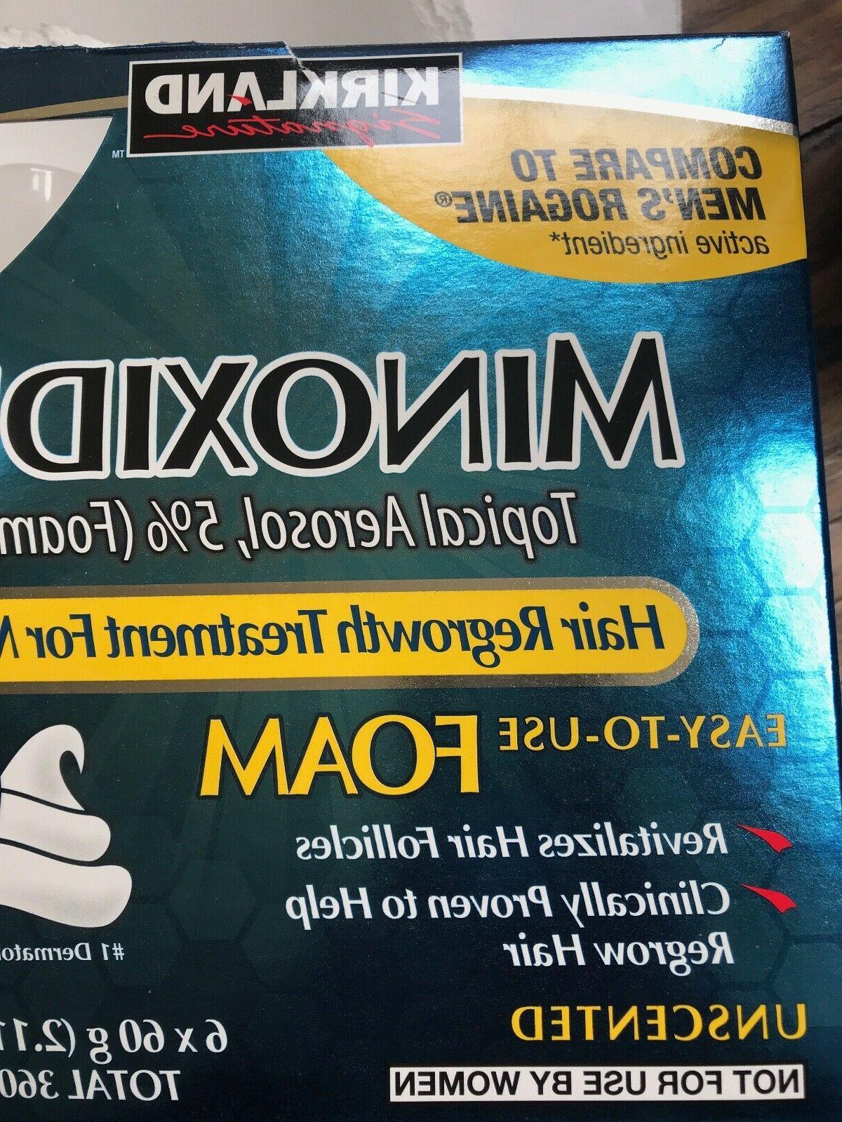 Kirkland Hair Regrowth Minoxidil Foam for