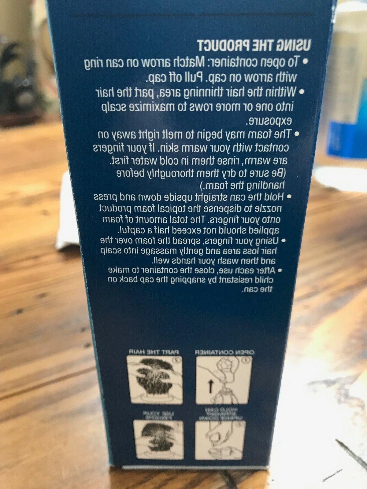 Kirkland Hair Regrowth Treatment Minoxidil 5% Foam for Men - 1 Supply