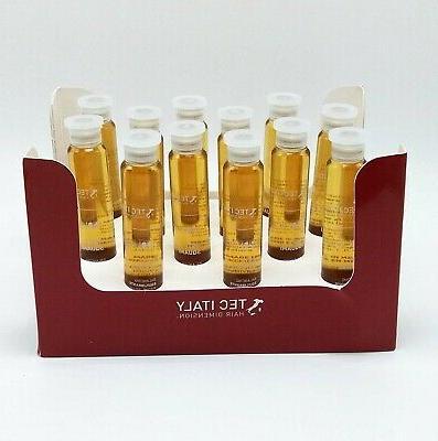 hair therapy treatment anti squami 12 ampolletas