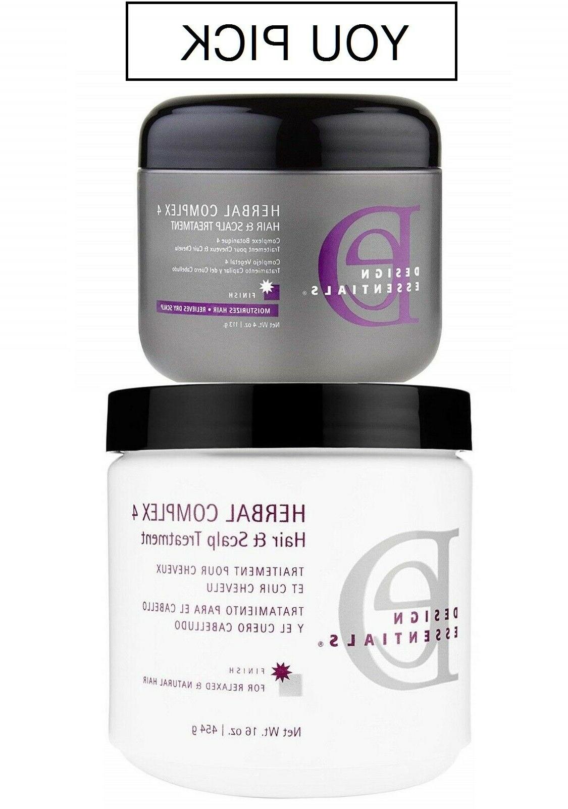 herbal complex 4 hair scalp conditioning treatment