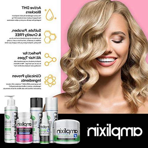 Amplixin Intensive Growth Serum - Hair Loss Men DHT Hairline & 2oz
