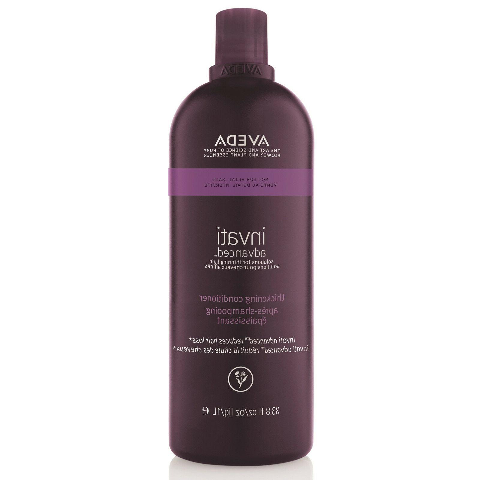 Aveda Invati Advanced Thickening Conditioner 33.8 fl oz. 1 L