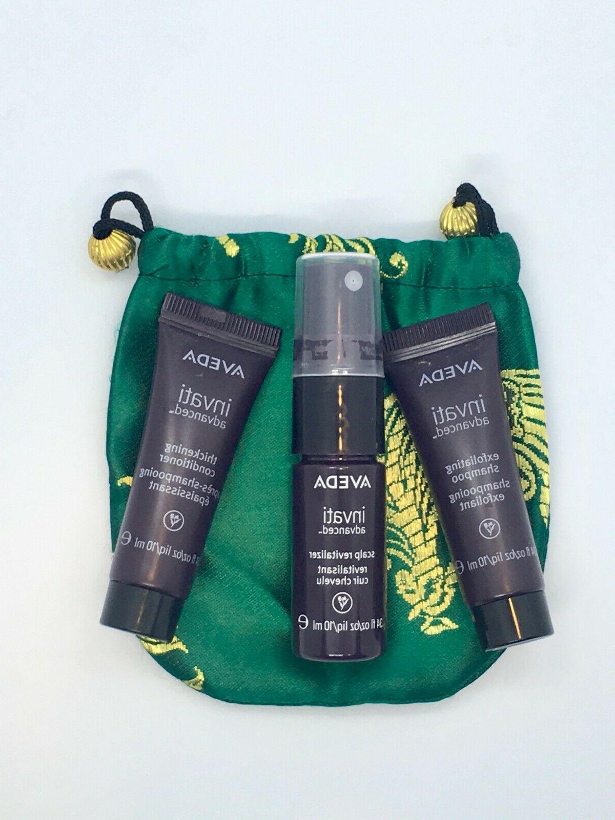 invati sample pack 34oz 10ml natural hair
