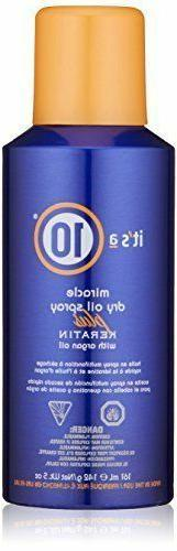 It's a 10 Haircare Miracle Dry Oil Spray Plus Keratin with A