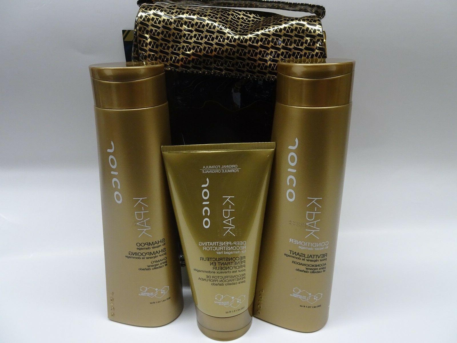 Joico K-pak Reconstruct Shampoo,Conditioner & deep Penetrati