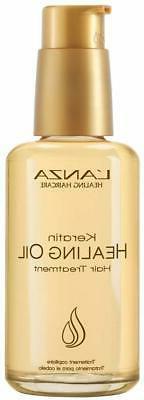 Keratin Healing Oil Hair Treatment by Lanza, 3.4 oz