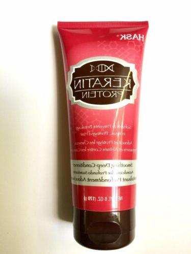 keratin protein smoothing deep conditioning