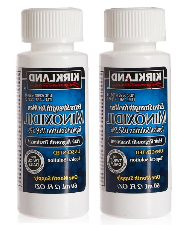 kirkland minoxidil extra strength hair