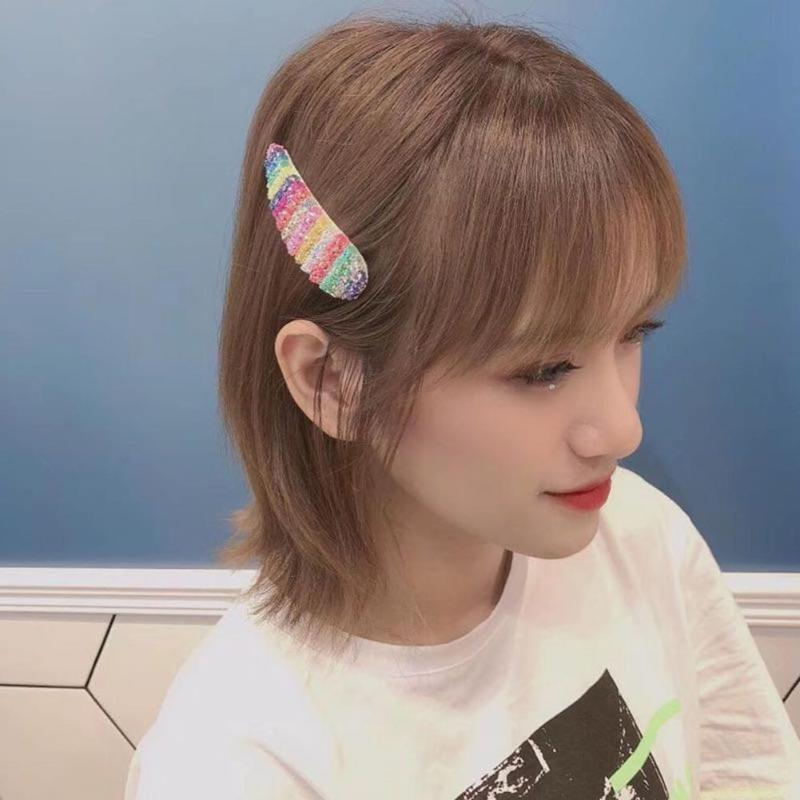 korean candy color hairpin excellent alloy electricity