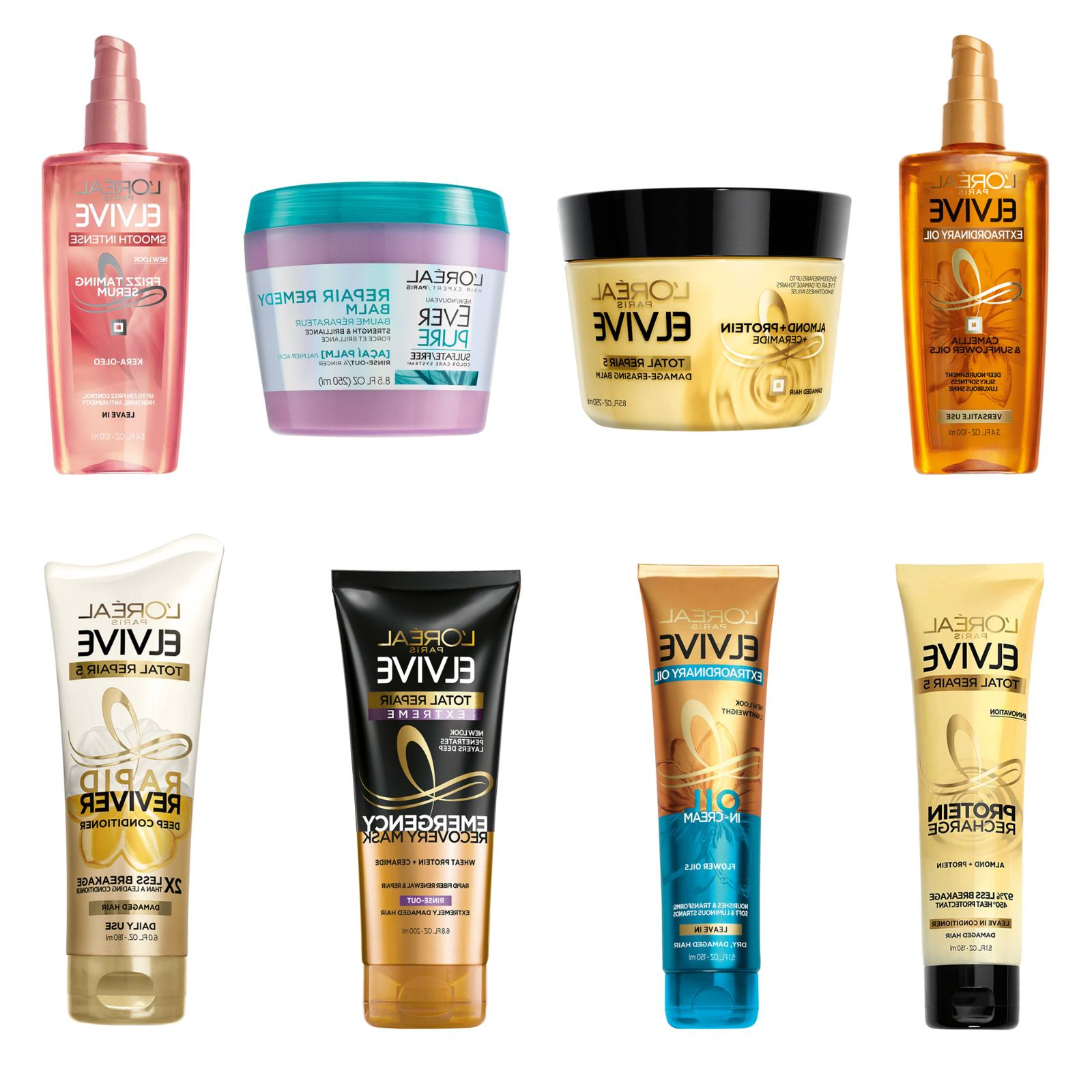 l oreal hair treatments and styling products