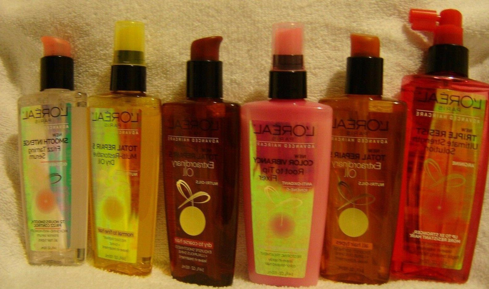 L'OREAL HAIRCARE***OILS/SERUMS~~FULL SIZES~BRAND