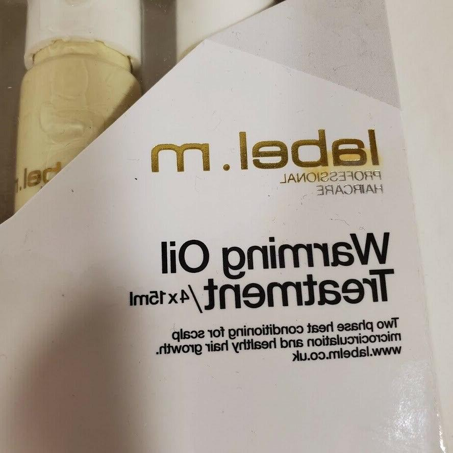 label.m Warming Treatment 4 NEW Conditions Promotes Hair