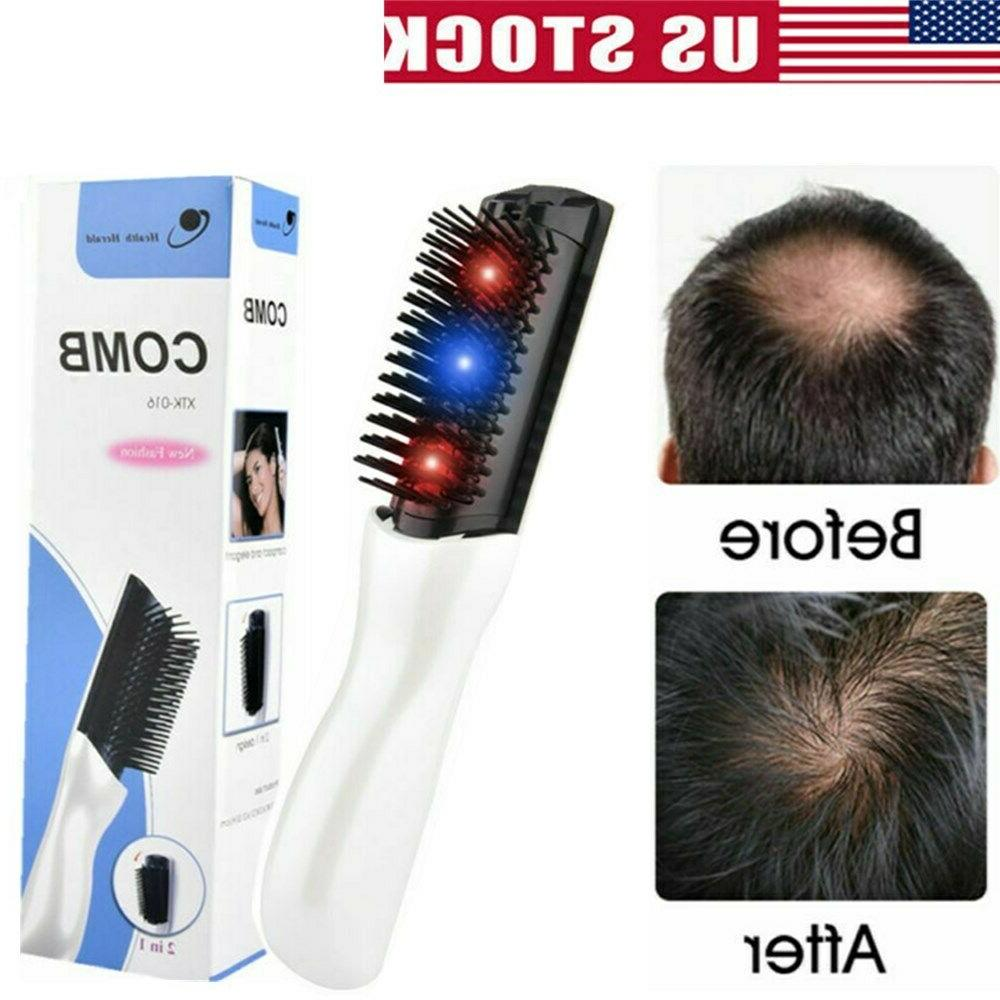 Laser Massage Hair Comb Infrared Hair Loss Treatment Hair Gr