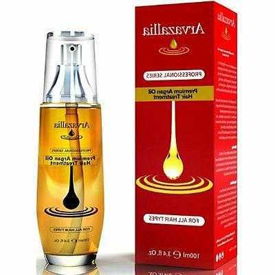 Arvazallia Leave In Hair Treatment Argan Oil Repair Strength