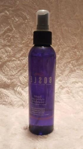 BOSLEY Liquid Styling Gel Treatment hair body & hold spray 6