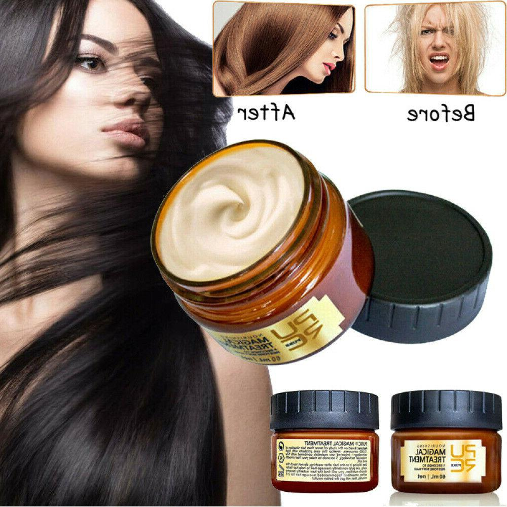 magical keratin hair treatment mask 5 seconds