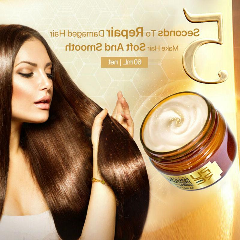 magical keratin hair treatment mask 5 seconds