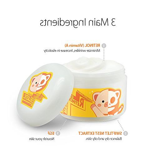 Elizavecca care Revitalize Cream for Aging Pore Brightening Facial Treatment & Night Day moisturizing Cream
